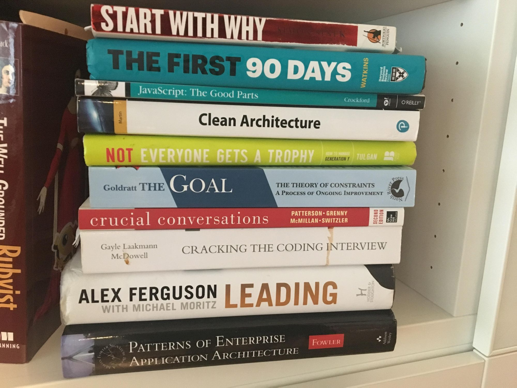 My Reading Listening List The Pragmatic Engineer